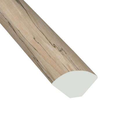 Brook Park Oak 2/3 in. Thick x 3/5 in. Wide x 94 in. Length Luxury Vinyl Quarter Round Molding