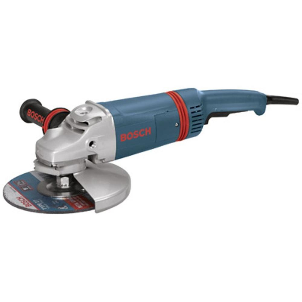 15 Amp Corded 9 in. Large Angle Grinder with Guard Kit