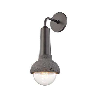 Macy Old Bronze 1-Light Wall Sconce