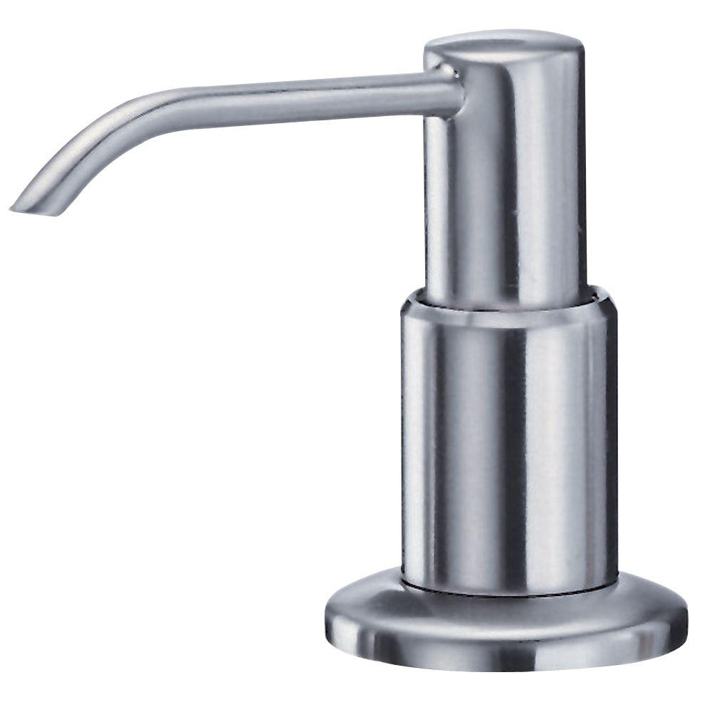 Danze Deluxe Soap and Lotion Dispenser in Stainless Steel-DISCONTINUED