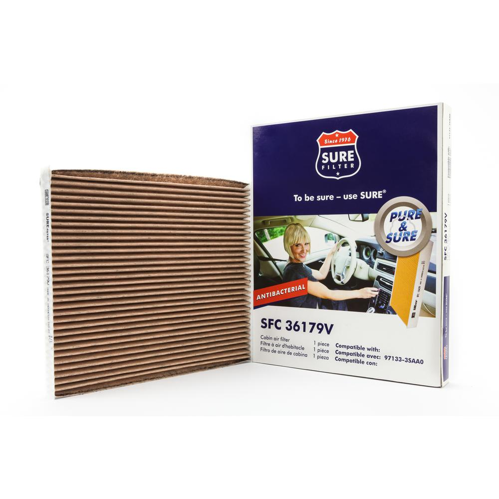 Replacement Antibacterial Cabin Air Filter for Wix 24013 Purolator C36179 Fram