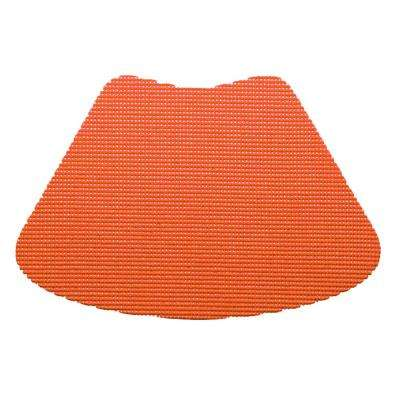 Peach Echo Fishnet Wedge Placemat (Set of 12)