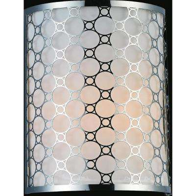 Swiss 1-Light Stainless Steel Sconce