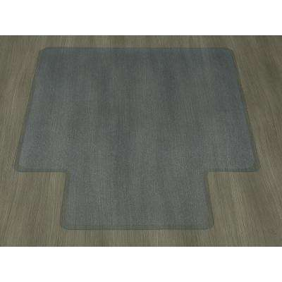 Hard Floor Clear 36 in. x 48 in. with Lip Vinyl Chair Mat