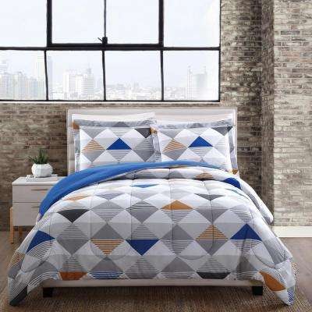 Metro Multi-Color King Comforter Set