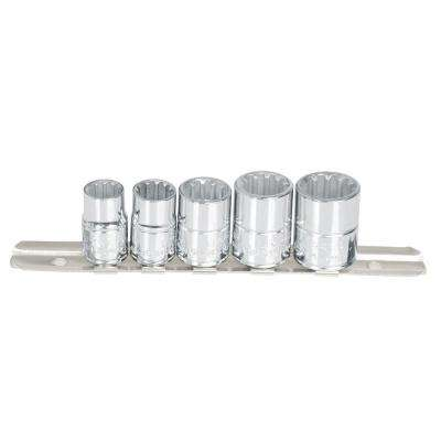 Rail-Clip Spline Socket Set (5-Piece)