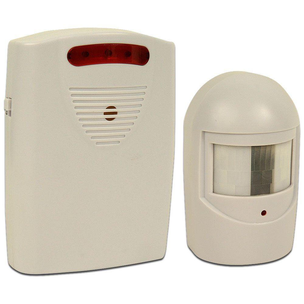 Trademark Infrared Motion Sensing Alarm System 82 3731 The Home Depot Ultrasonic Detector Project With Versatile Controls