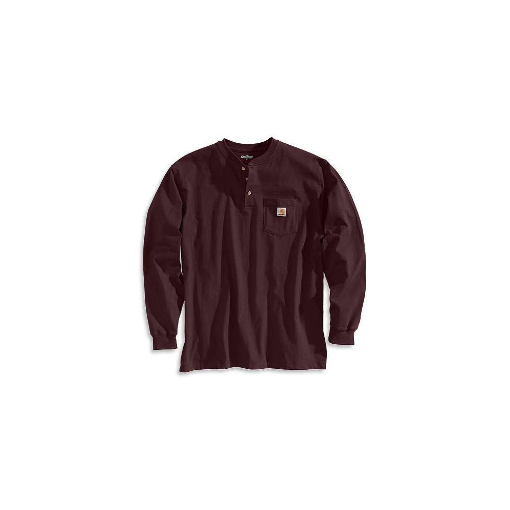 41e838dbf9 Carhartt Men s Regular X Large Port Cotton Long-Sleeve T-Shirt-K128 ...
