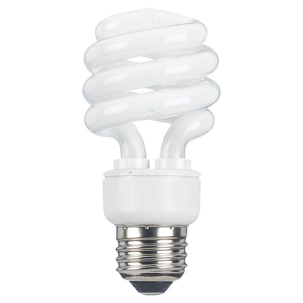 Sea Gull Lighting 2 in. E25 13-Watt Bright White (2700K) Linear Fluorescent Light Bulb