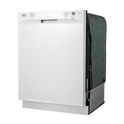 ENERGY STAR 24 in. Built-In Dishwasher with Heated Drying in White