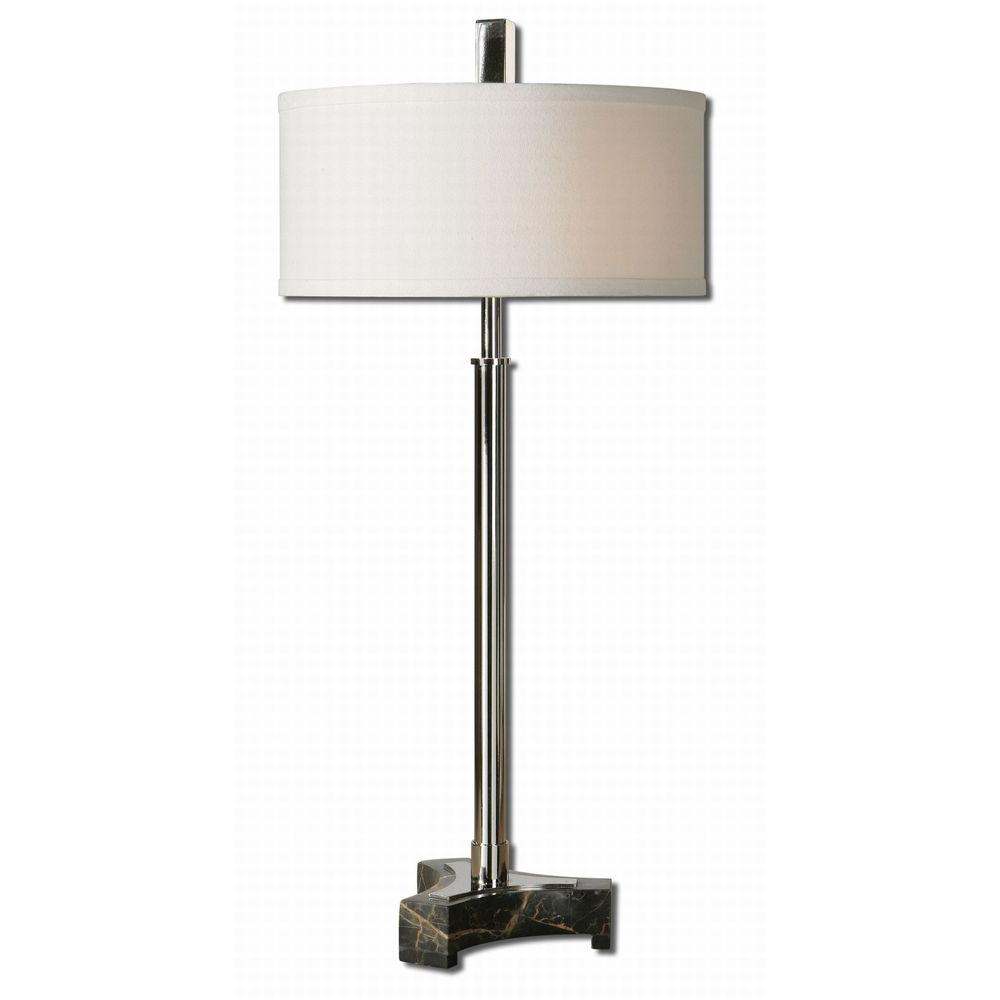 Global Direct 28.5 in. Chrome Buffet Lamp