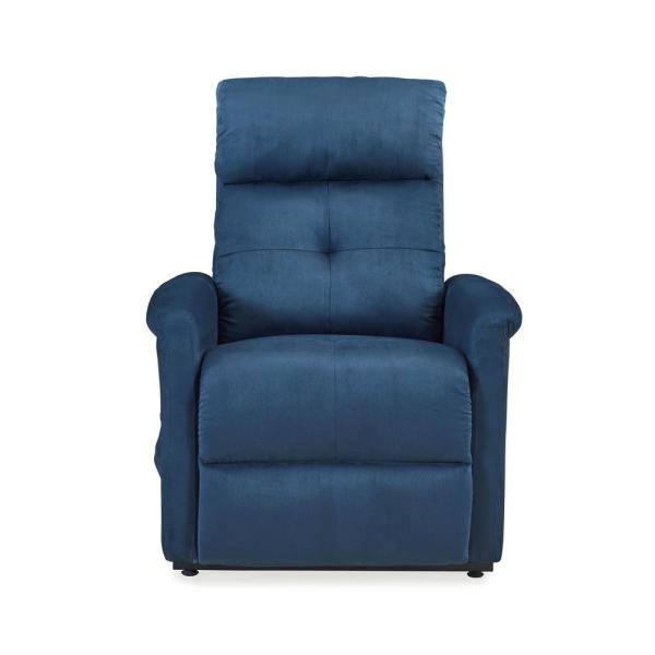 ProLounger Blue Microfiber Power Recline and Lift Chair RCL43-AAA55-LT