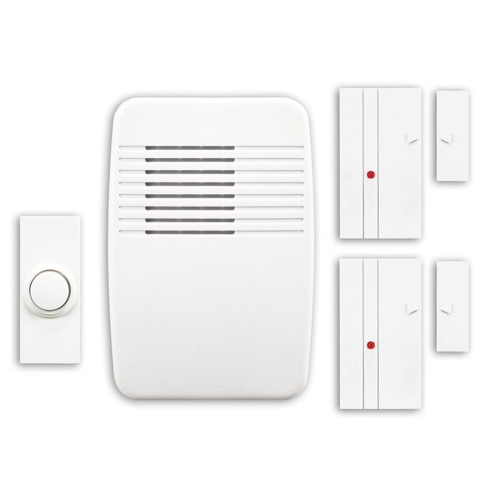 Heath Zenith Wireless Plug In Door Chime Kit