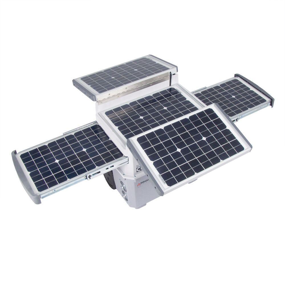 Wagan Tech Solar E-Power Panel Cube