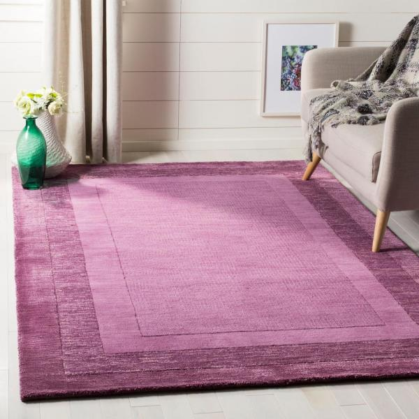 Safavieh Impressions Fuchsia Purple 7 Ft 6 In X 9 Ft 6 In Area Rug Im821a 8 The Home Depot
