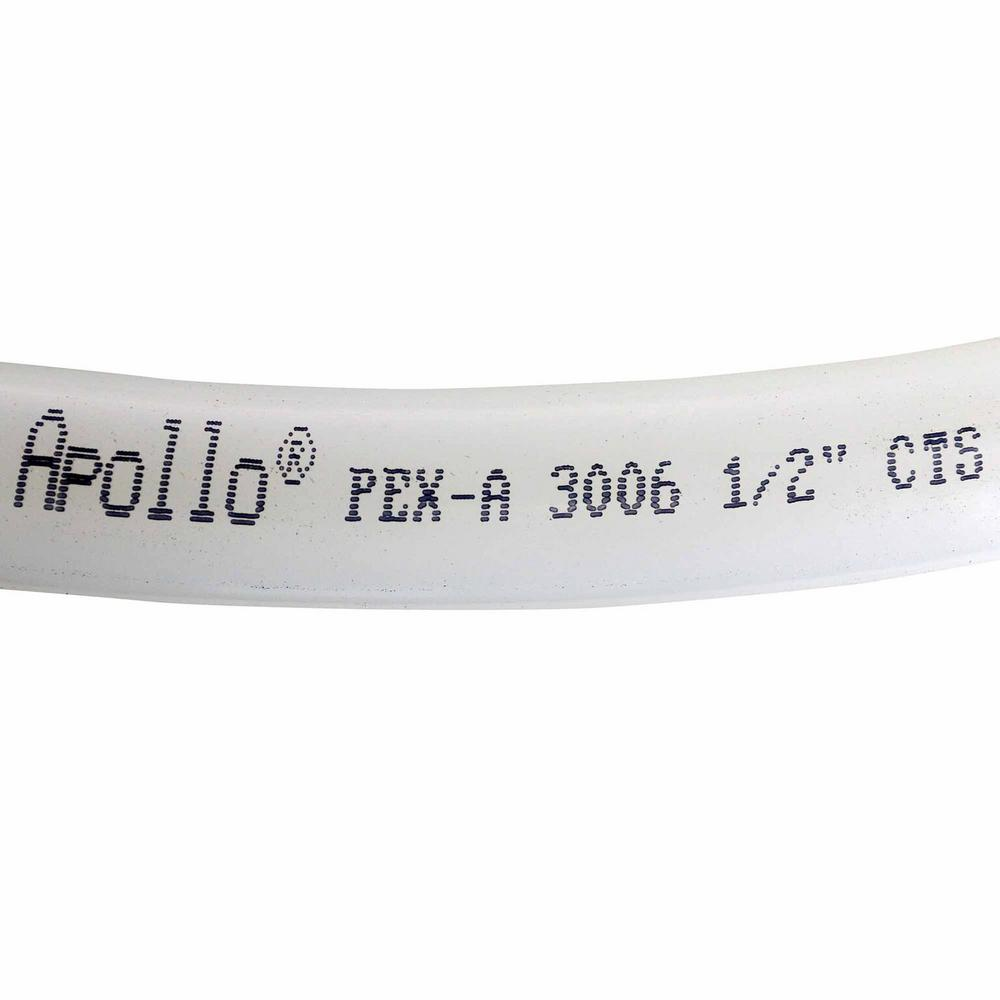 Apollo 1/2 in. x 100 ft. White PEX-A Expansion Pipe