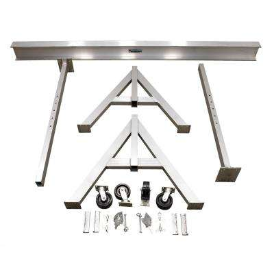 6,000 lb. 15 x 10 ft. Adjustable Aluminum Gantry Crane