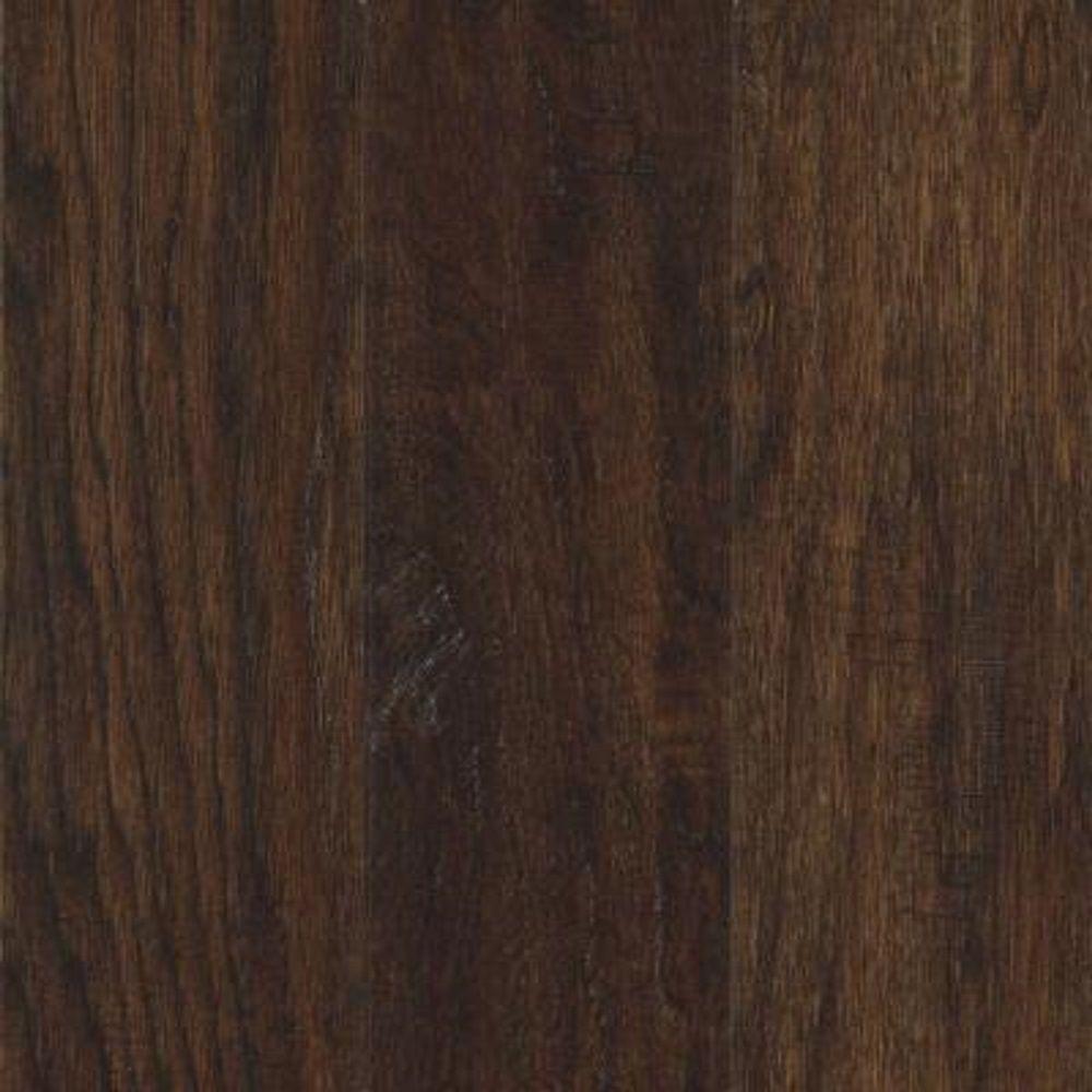 Take Home Sample - Steadman Espresso Hickory Engineered Scraped Hardwood Flooring - 5 in. x 7 in.