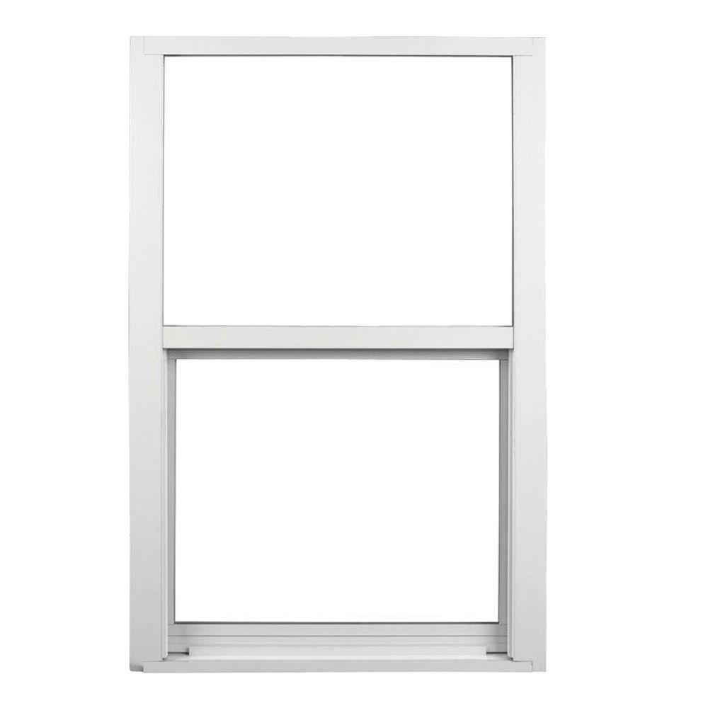Awp 37 in x in 580 series single hung aluminum for Ply gem windows price list