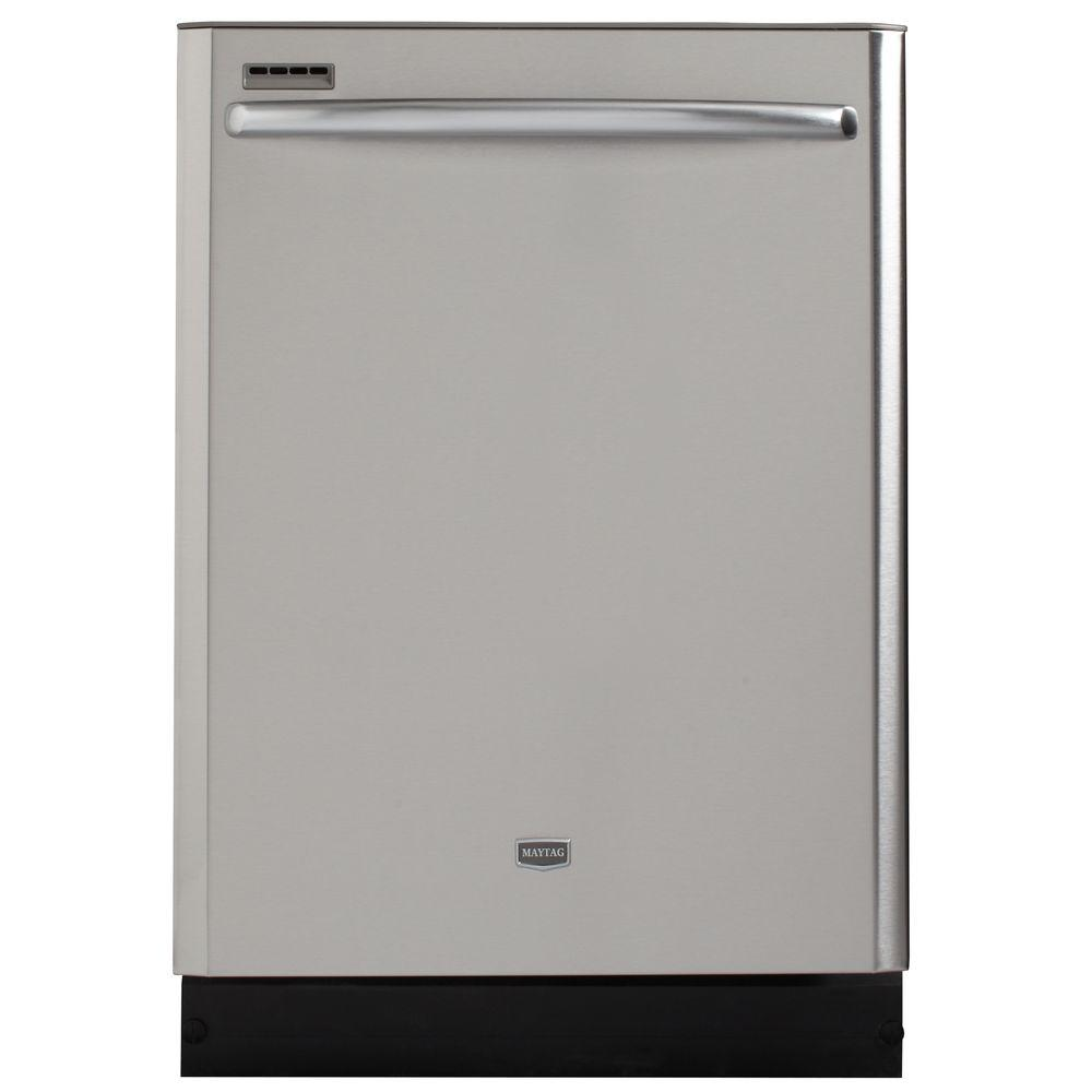 Maytag JetClean Plus Top Control Dishwasher in Stainless Steel with Steam Cleaning-DISCONTINUED