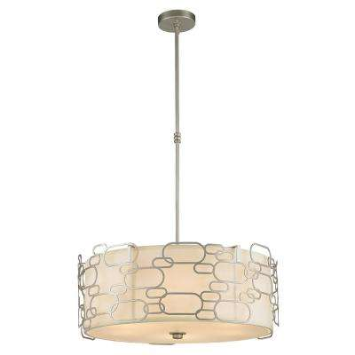 Montauk 9-Light Matte Nickel Pendant