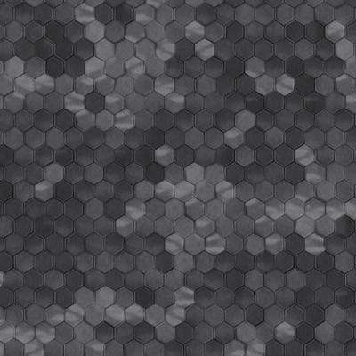 Black Shimmering Hexagons