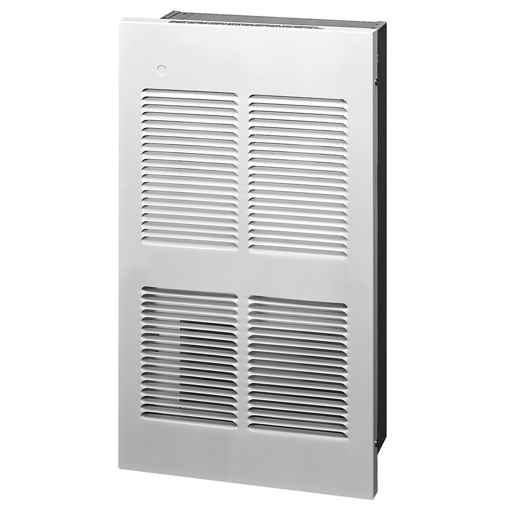 EFW Multi-Watt LG 240-Volt 4000-Watt Wall Heater in White