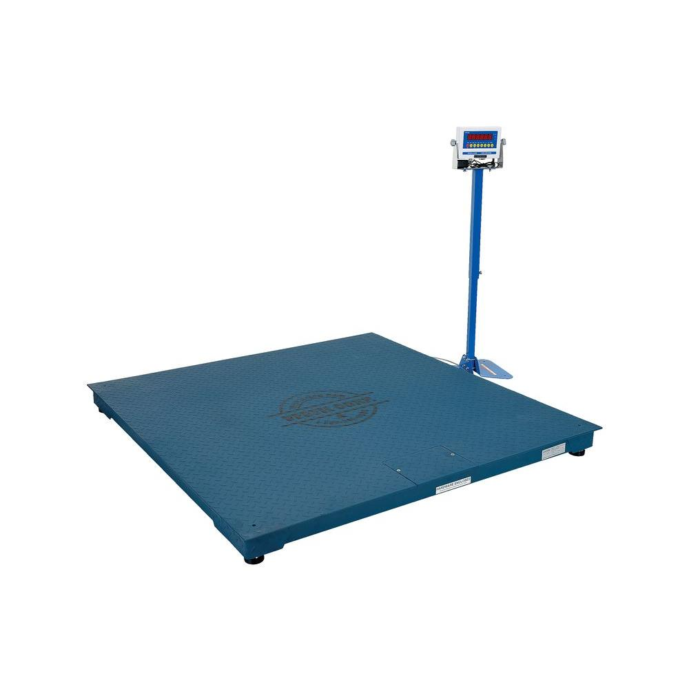 10,000 lb. 60 in. Digital NTEP Floor Scale