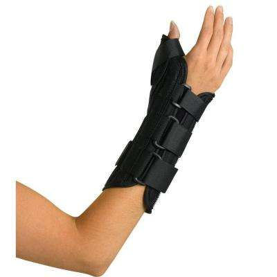 Large Wrist and Forearm Left-Handed Splint with Abducted Thumb