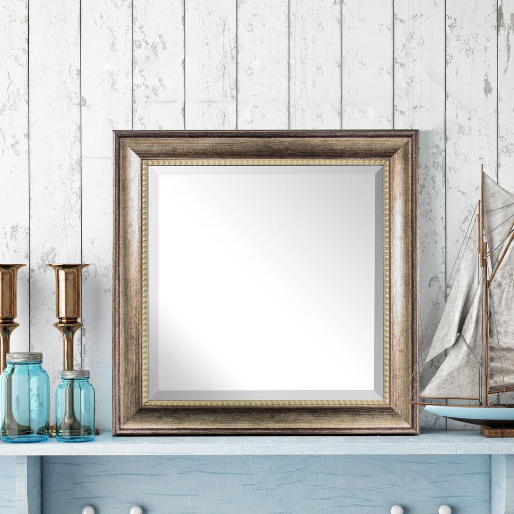 Leighton Square Multicolored Vanity Mirror