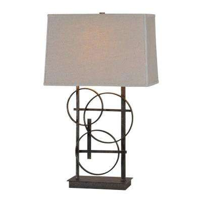 Luna 26 in. Antique Bronze Table Lamp