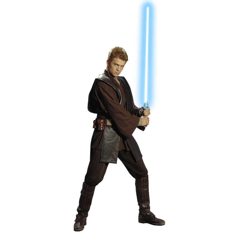 RoomMates 72 in. x 29 in. Star Wars Episodes 1 - 3 Anakin Peel and Stick Giant Wall Decal