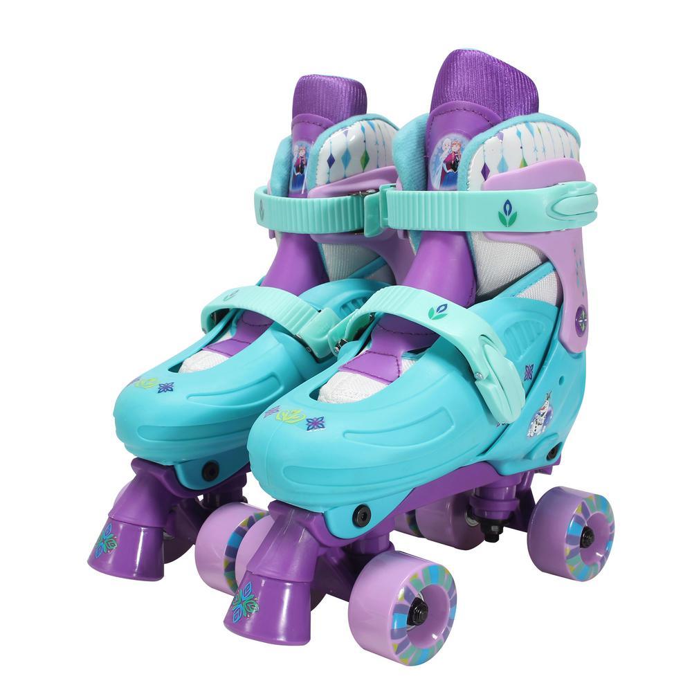 Frozen Junior Size 1 - 4 Kids Classic Quad Roller Skates