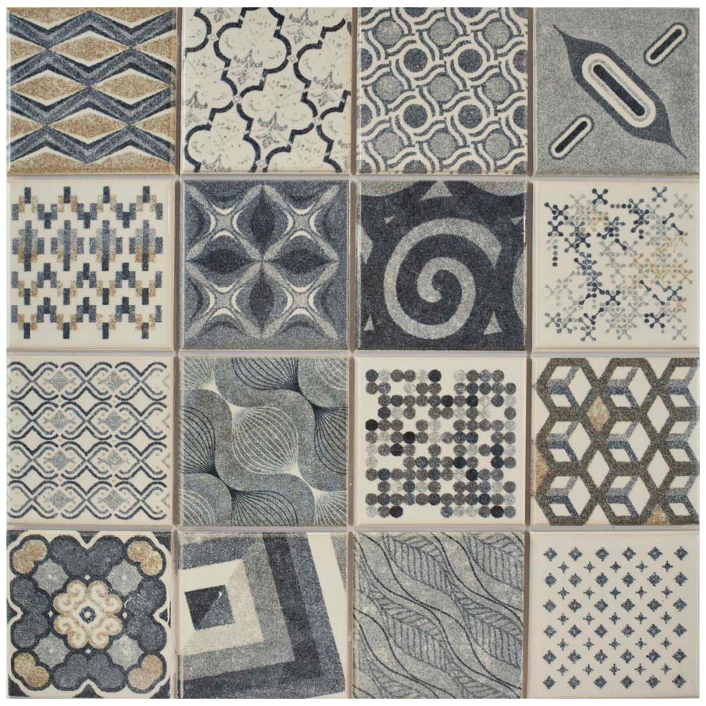 Merola tile century millennial 9 34 in x 9 34 in porcelain floor merola tile century millennial 9 34 in x 9 3 shiifo