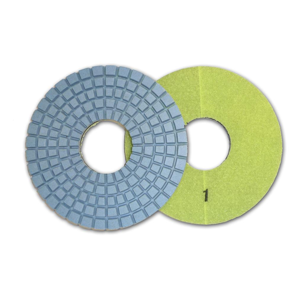 Con-Shine 6 in. 5-Step Dry Diamond Polishing Pads Step 1