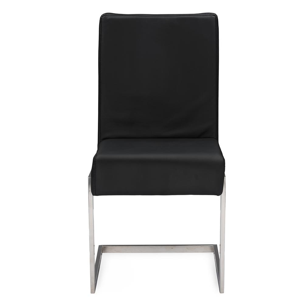 Boraam Bloomington Black and Cherry Wood Dining Chair (Set of 2 ...