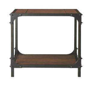 Home Decorators Collection Industrial Empire Black End Table by Home Decorators Collection
