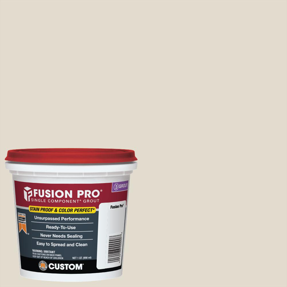 Custom Building Products Fusion Pro #11 Snow White 1 qt. Single Component Grout