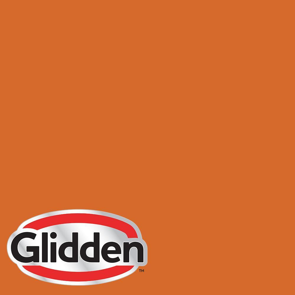 5 gal. #HDGO27D Fiery Orange Flat Exterior Paint