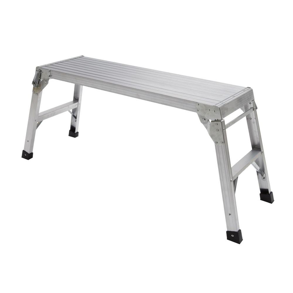 Gorilla Ladders 20 in. Aluminum Work Platform-DISCONTINUED