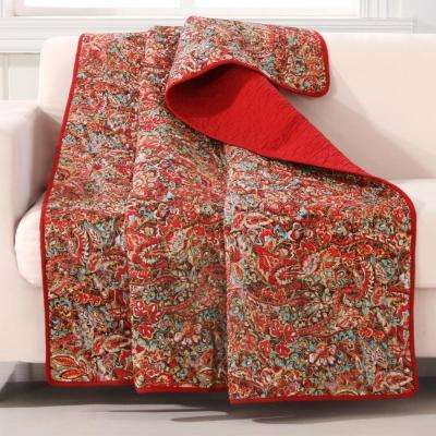 Persian Multi Quilted Cotton Throw