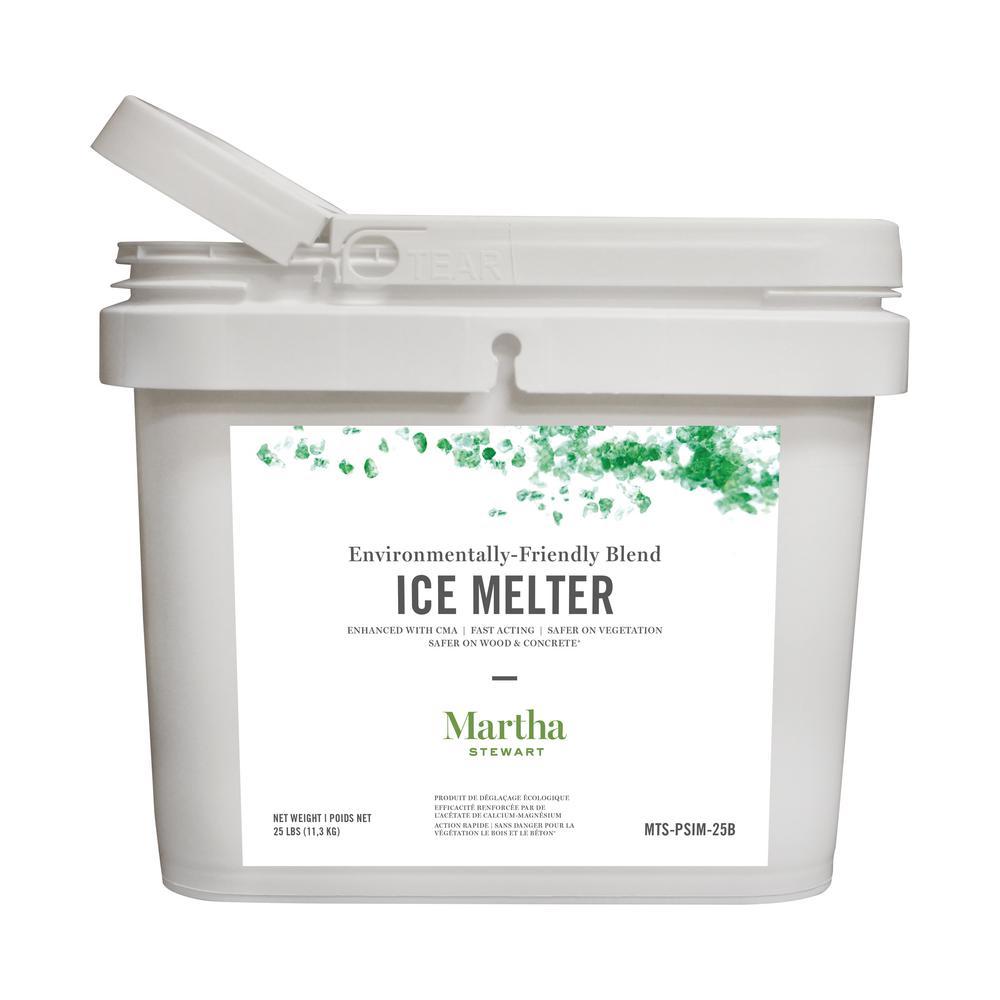 25 lbs. Environmentally Friendly Ice Melt Bucket