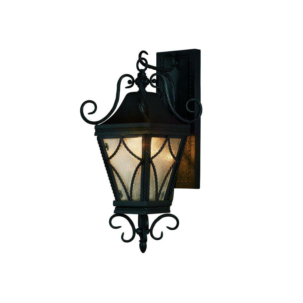Eurofase Mavis Collection Wall-Mount Outdoor Charcoal Light Fixture-DISCONTINUED