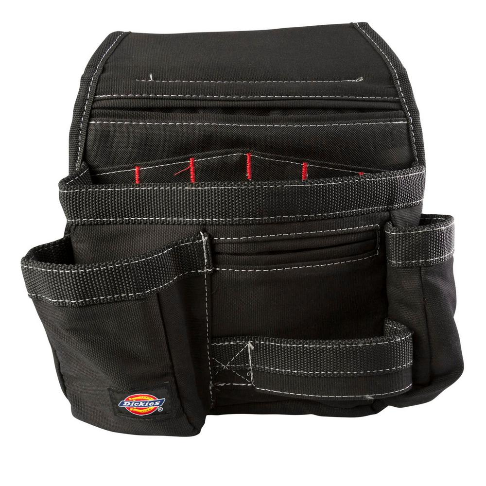 11-Pocket Construction Tool Pouch / Holder in Black