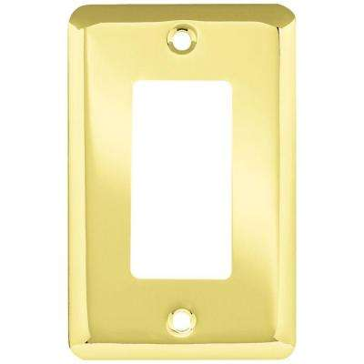 Liberty - Brass - Wall Plates & Jacks - Electrical - The Home Depot