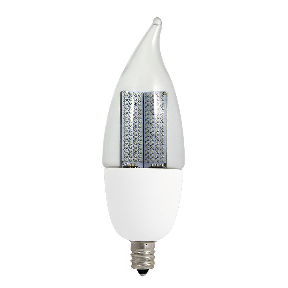 10W Equivalent Warm White CA9.5 Non-Dimmable Clear LED Animated Flame Light