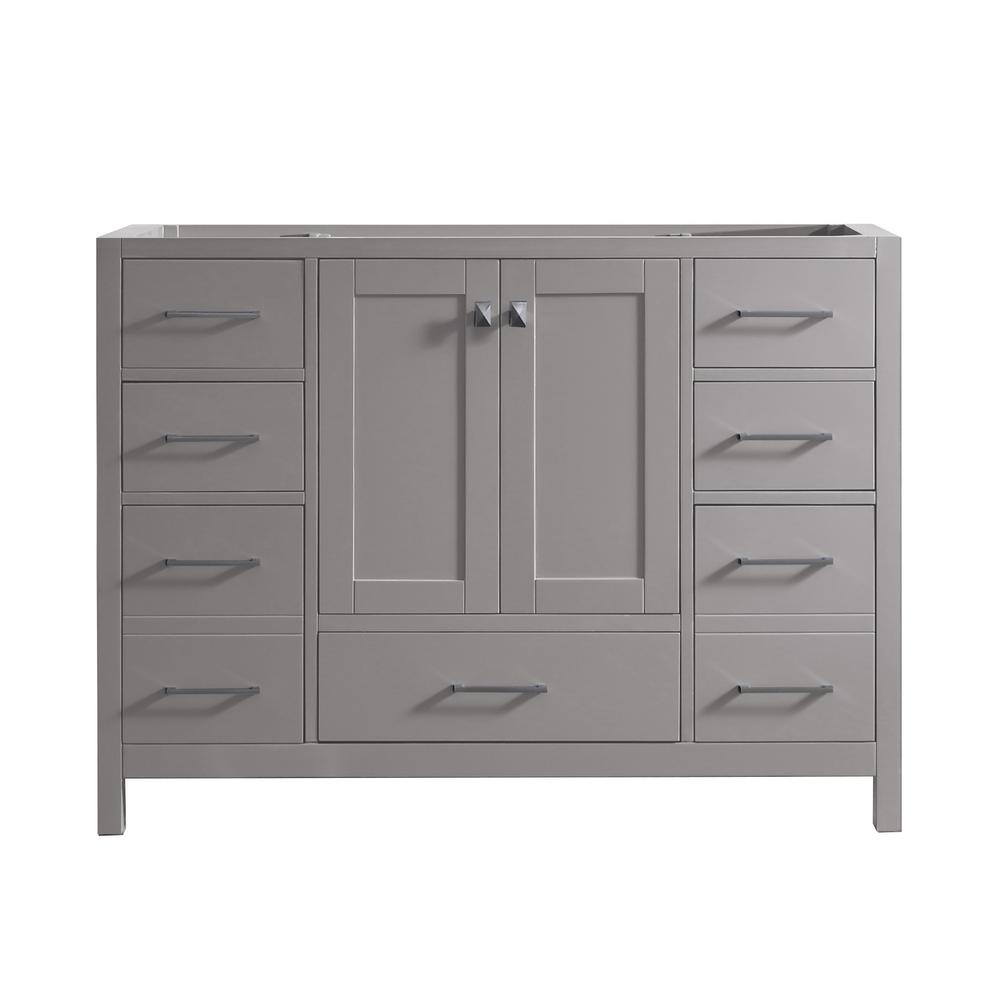 Caroline Madison 48 in. W Bath Vanity Cabinet Only in Cashmere