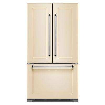36 in. W 21.9 cu. ft. French Door Refrigerator in Panel Ready, Counter Depth