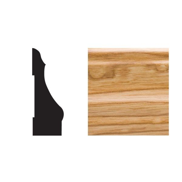 5445 5/8 in. x 2-1/4 in. x 7 ft. PVC Composite Colonial Imperial Oak Casing