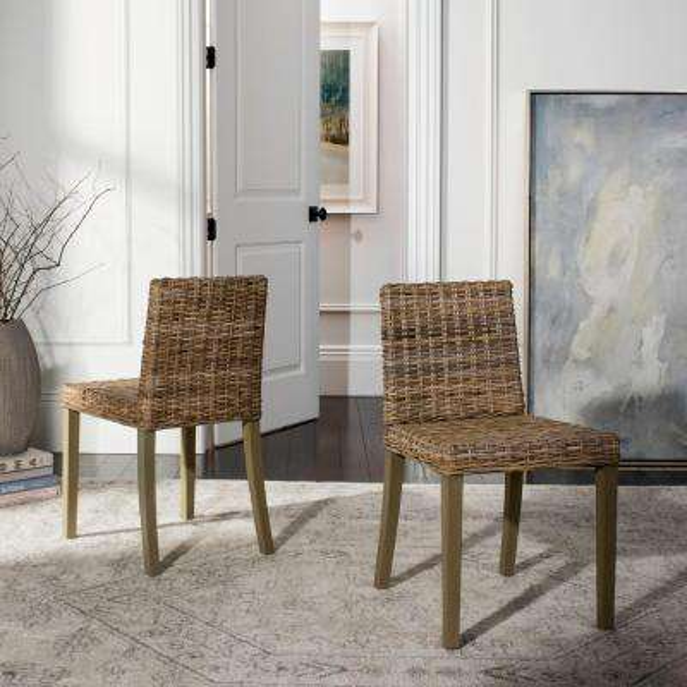 Tulum Grey Wash Side Chair (Set of 2)